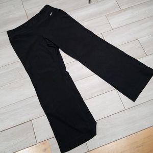 NIKE fit dry black workout active pants sz.XL
